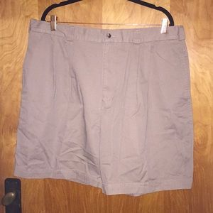 Men's Tan Perry Ellis Shorts